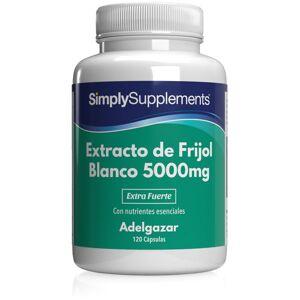 Simply Supplements Extracto de Frijol Blanco - 120 Cápsulas