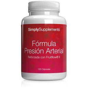 Simply Supplements Formula Presión Arterial - 120 Cápsulas