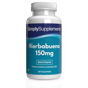 Simply Supplements Hierbabuena 150mg - 360 Comprimidos