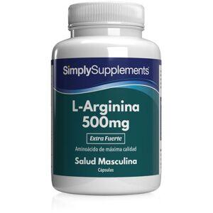 Simply Supplements L-Arginina 500mg - 240 Cápsulas