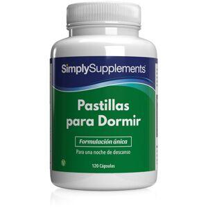 Simply Supplements Pastillas para Dormir - 120 Cápsulas