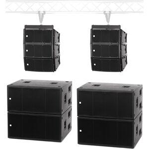 the box pro A10 LA Line Array System Negro
