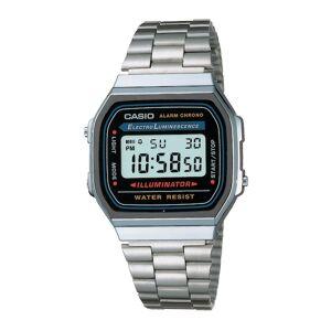 CASIO Unisex Vintage Black Dial Vintage Watch A168WA-1WDF - D131