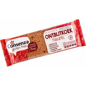 Consenza Gluten Free Ontbijtkoek Naturel (65 gr)