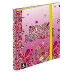 Carpebloc A4 Busquets 4 anillas con recambio Pink Jungle