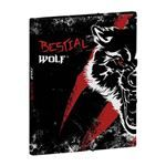 Carpeta clasificadora A4 Busquets Bestial Wolf negro