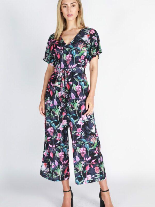 Floral Pantsuit