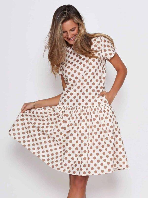 New Polka Dress