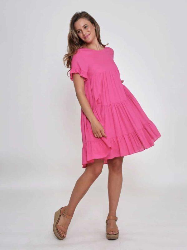 Ruffle Jade Dress