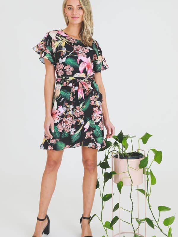 Mok Wrap Dress
