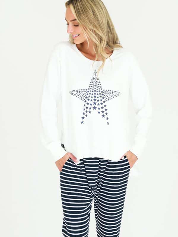 Mini Star Sweater