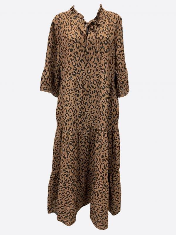 Linen Tier Dress