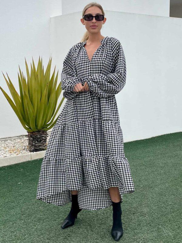 Gingham Float Dress