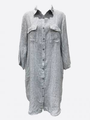 Pocket LS Dress