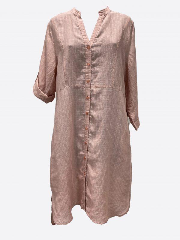 Button LS Dress