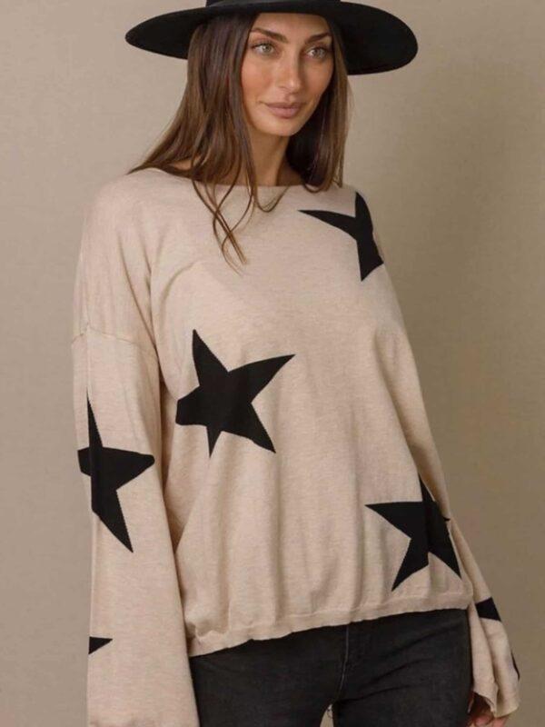 Multi Star Knit