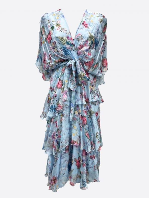 Silk Tie Dress
