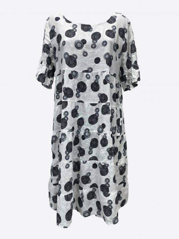 Print Tier Dress