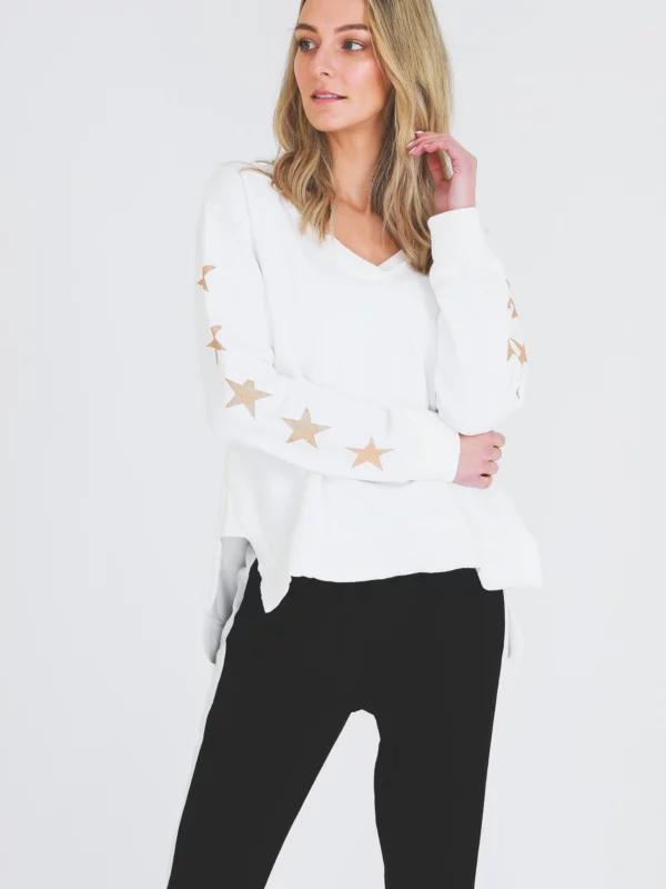 Gold Star Sweater