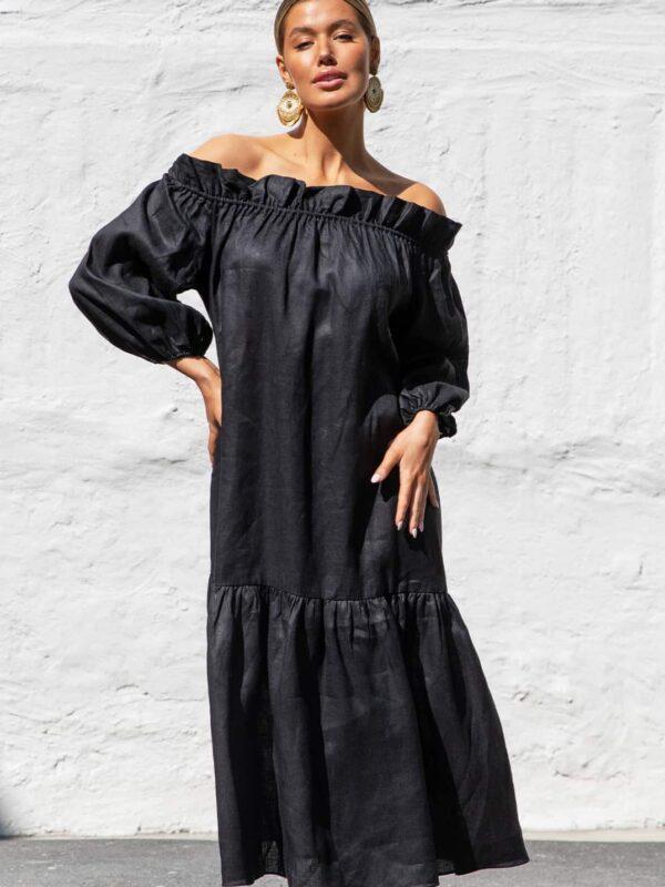Linen Helena Dress