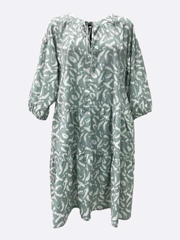 Print Tie Dress
