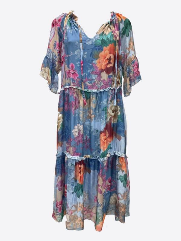 Silk Tier Dress
