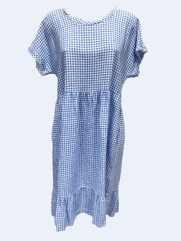 Check Sara Dress