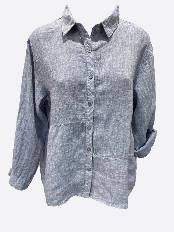 Linen Button Shirt