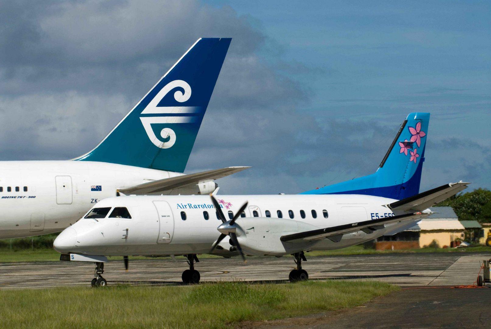 Saab & Air NZ B767 Codeshare_Rarotonga - Ewan Smith