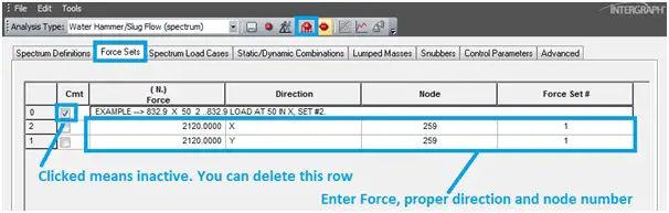 Entering slug forces for dynamic slug flow analysis.