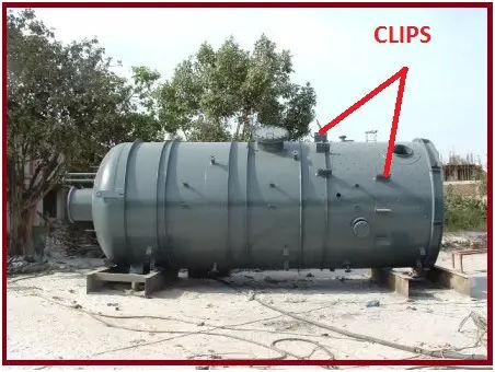 Vessel clips