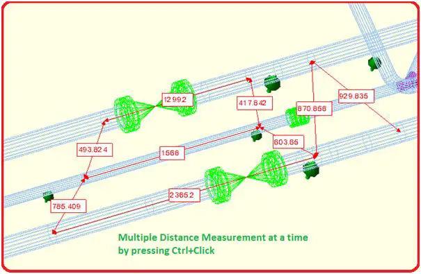 Improved distance measurement capability of caesar II-8.0
