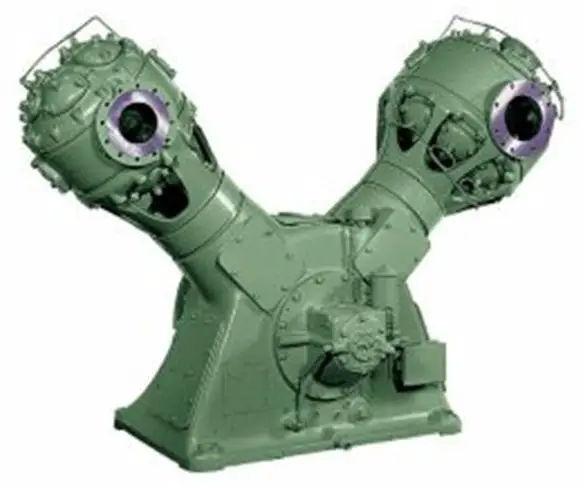 A typical reciprocating compressor
