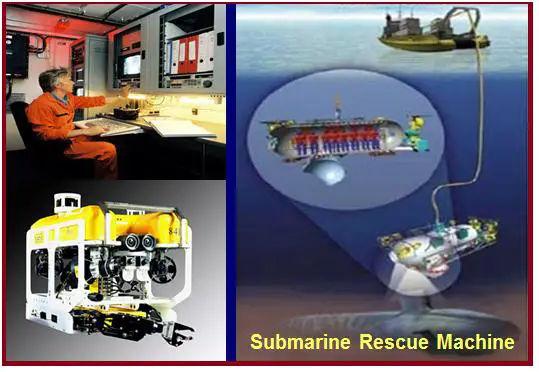 Latest development in underwater inspection.
