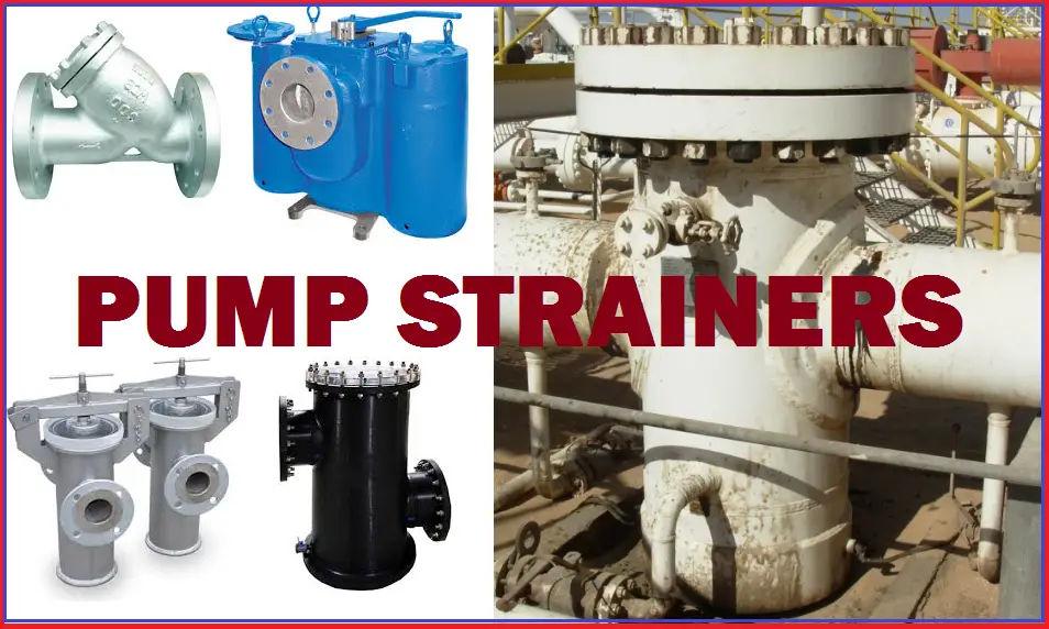 Pump Strainers