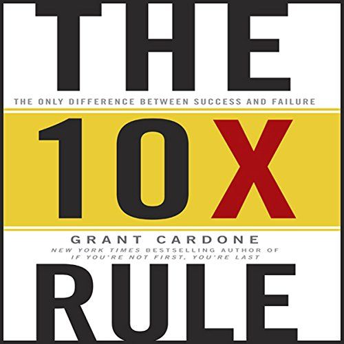 The 10X Rule Review: The 10x Rule by Grant Cardone