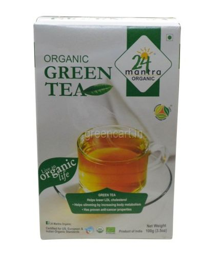 ORGANIC GREEN TEA 100GM