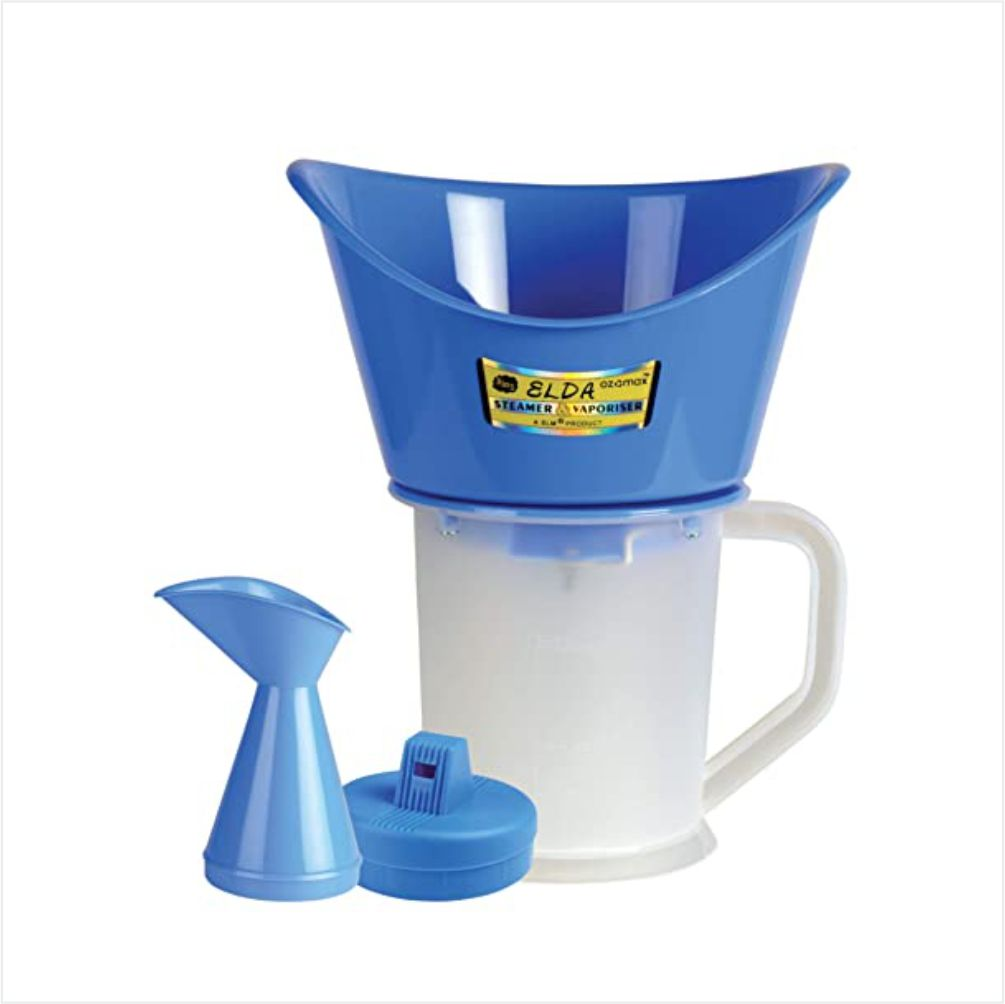 LV 3 in 1 Steam Vaporizer Nose Steamer, Cough Steamer, Nozzle Inhaler & Nose Vaporizer, Facial Steamer Vaporizer