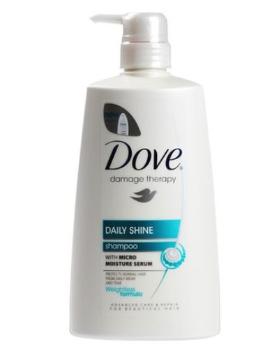 DOVE DAILY SHINE SMP 650ML