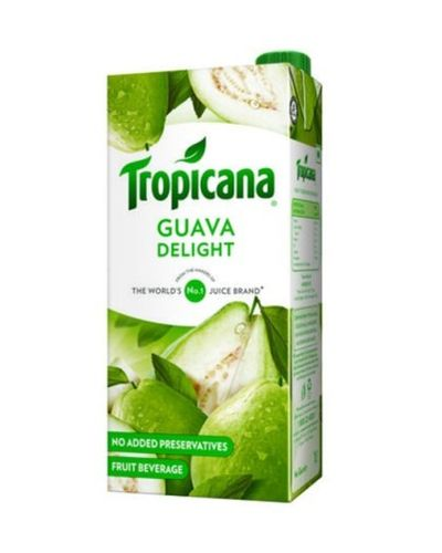 TROPICANA GUAVA JUICE 1LTR