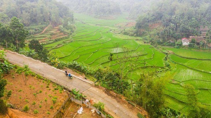 vietnam drone shot