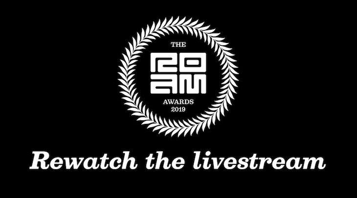 2019 roam awards ceremony livestream