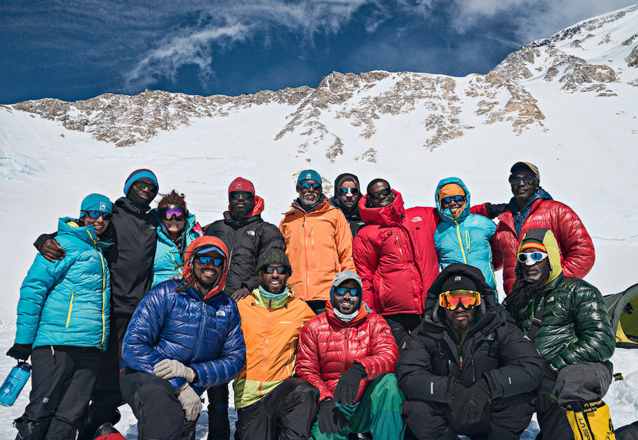 Members of the Expedition Denali trip