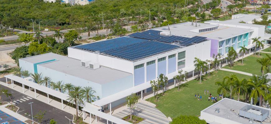 Exterior of Cayman International School