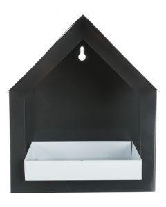 Trixie Voederhuis Voor Aan De Muur Antraciet / Wit 19x12x23 Cm