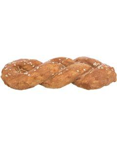 Trixie Denta Fun Chicken Bread Gevlochten 15 Cm 75 Gr 50 St