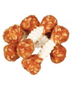 Trixie Denta Fun Chicken Chewing Dumbbells 6 St 100 Gr
