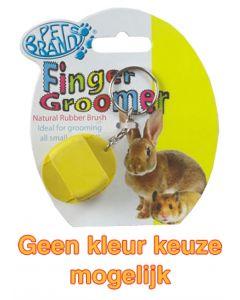 Petbrands Small Animal Finger Groomer 3,5x9x2,5 Cm