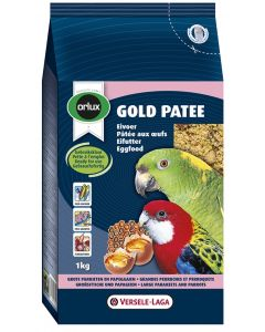 Orlux Gold Patee Eivoer Grote Parkiet/papegaai 1 Kg