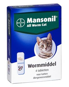 Mansonil Kat All Worm Tabletten 4 St